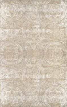 Ornate LU03 Beige Rug | Contemporary Rugs