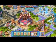 Adventure Park - gameplay - Adventure Park is a Facebook based social game, amusement park simulation game, free to play on Facebook, from iZ.