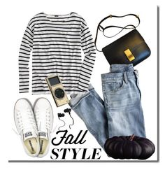"""""""Fall-ish"""" by adduncan ❤ liked on Polyvore featuring J.Crew, Converse, Monster and Swarovski"""