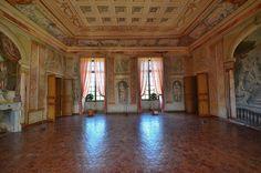 Salle Servandoni .Château de Condé. Condé-en-Brie (Aisne) - Picardie