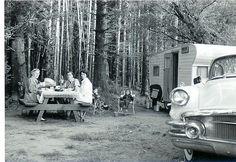 Before They Were Vintage - Vintage Camper Trailers