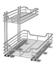 $50.00 ea. I need at least 3.  This Two-Tier Under-Sink Sliding Organizer is perfect! #zulilyfinds