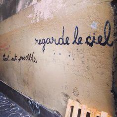 Street wisdom #streetart #paris