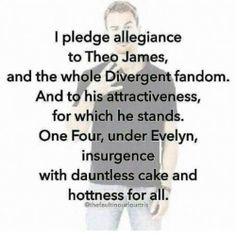 The official (give or take) Divergent Fandom pledge. Hahahahahahahahhaah