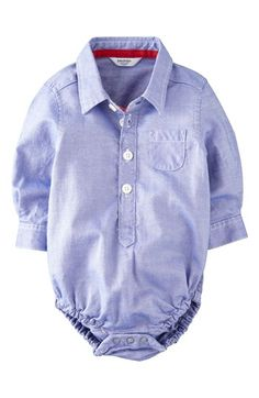 Mini Boden Laundered Cotton Bodysuit (Baby Boys) available at #Nordstrom