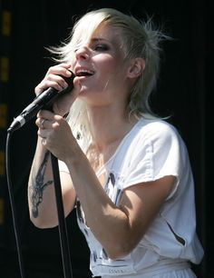 Maja Ivarsson from The Sounds