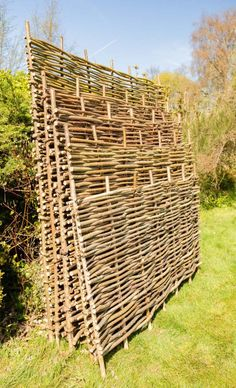 Papillon™ Hazel Hurdles Fencing Panel Woven from coppiced hazel to a traditional pattern, this beautiful, robust and eco-friendly hazel fence panel will make a perfect practical addition to your garden.
