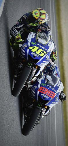 Valentino Rossi & Jorge Lorenzo