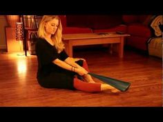 Nikki's Theraband Exercises for Pointe - amazing exercises for anyone looking to strengthen their ankles!