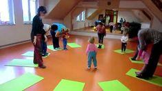 Cvičení s dětmi Basketball Court, Youtube, Dance, Children, Music, Sports, Games, Baby, Dancing