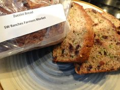 Delicious Zucchini Chocolate Bread at SW Ranches, FL
