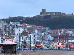 """See 250 photos and 6 tips from 631 visitors to North Bay Beach. """"A beautiful wide bay with waves you can surf on, rock pools when the tides out,. South Yorkshire, Yorkshire England, Great Places, Beautiful Places, Places To Visit, Scarborough England, Scenery Photography, Night Photography, Landscape Photography"""