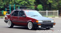 Toyota Corolla SE-Saloon 1987 : Berangan-angan Jadi Sprinter #BosMobil #classic