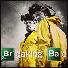 breaking bad  follows the struggles of a high school chemistry teacher who has lung cancer, and how he deals with it by selling Meth with a former student of his.  Full of drama, a bit of humor , you feel for Walt as he tries his best to provide for his family, even if it is selling illegal drugs. well worth your time to watch!