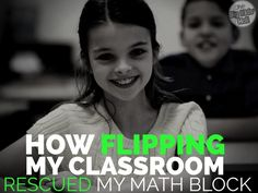 How Flipping My Classroom Rescued My Math Block Your mini lesson ran long. Now, you can either scrap your centers, or you can rush through them, which doesn't really do them or your students justice - and you'd put so much time into getting them ready. Flipped Classroom, School Classroom, Classroom Ideas, Classroom Resources, Teacher Resources, Classroom Procedures, Google Classroom, Future Classroom, Learning Resources