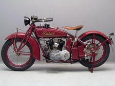 Indian 1928 Police Scout 750 cc