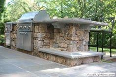 Outdoor Kitchen Patio, Pizza Oven Outdoor, Outdoor Rooms, Outdoor Living, Outdoor Kitchens, Outdoor Decor, Outdoor Bars, Outdoor Ideas, Backyard Ideas
