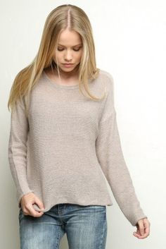 Brandy ♥ Melville | Wendy Knit - Knits - Tops - Clothing