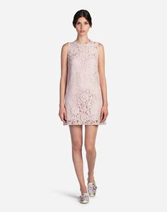 84af40a23f ... which come to life in iconic garments and accessories that are feminine  and timeless. br    line dress in cordonetto lace  br . Dolce Gabbana ...