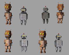 Rhinoceros - robots