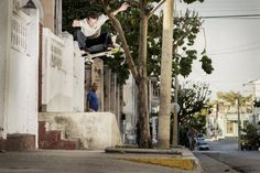 Cuban feel: Michael Mackrodt during filming for the new film Cuban Fidelity: http://win.gs/1fYc4HX Image: Patrik Wallner