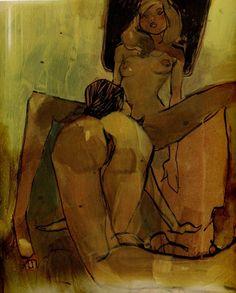 Ilustración de Ashley Wood.