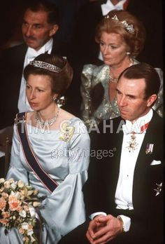 1998 APRIL Princess Anne And Her Husband, Mark Phillips, Attending The Lord Mayor's Banquet At Guildhall, London. The Princess Is Wearing A Diamond Tiara. English Royal Family, British Royal Families, Princess Anne Wedding, Royal Family Portrait, Windsor, Royal Family Trees, Reine Victoria, Royal Tiaras, Queen Elizabeth