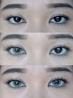 HELLO PRETTY DOLLS   It's been so long since the last time I posted a review of contact lenses.    Today is the day!   EOS Anuna Grey Green...