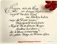 Grußkarten - Kalligraphie | Kalligrafie | Aufträge