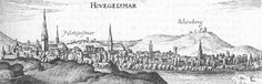 Hofgeismar - Excerpt from the Topographia Hassiae by Matthäus Merian the Younger 1655