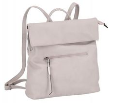 Cityrucksack Galini Ice hellgrau Lichtblau Damen - Bags & more Backpacks, Bags, Fashion, Artificial Leather, Grey, Handbags, Moda, Fashion Styles, Backpack