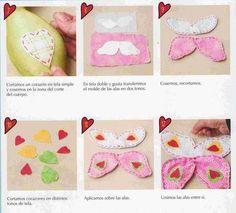 Vancrisk Arteira=): Como fazer uma borboleta de tecido para amarrar cortina com molde