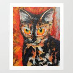 Luna Art Print by Mage Lanz - $13.52