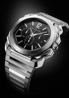 TimeZone : Industry News » N E W M o d e l - Bulgari Octo Chronograph