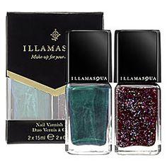 Illamasqua - Nail Varnish Duo  #sephora    Funky!