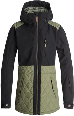9e3759202b 2019 Roxy Journey Snowboard Jacket for Women. Sure to keep you warm and  looking great