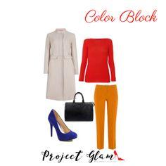 """¿Qué es vestir al estilo """"Color Block""""?"""