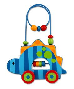 Take a look at this Dinosaur Rolling Wire & Bead Toy on zulily today!