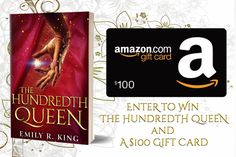 #Historical #Romance #Paperback #Giveaway- Win a copy of The Hundredth Queen AND a $100 Amazon gift card!