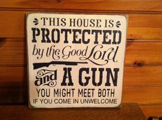 Popular items for gun signs on Etsy