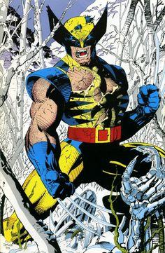StuffNThings - redskullsmadhouse:   Wolverine by Jim Lee