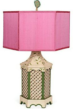 Chinoiserie Chic with a punch of PINK!