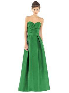 Alfred Sung Style D537 http://www.dessy.com/dresses/bridesmaid/d537/?color=pistachio&colorid=396#.Uvrnh_ldVqU