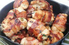 Receita de Filé de Frango Enrolado com Mussarela e Bacon , Delicioso e fácil de fazer! Aprenda a Receita!
