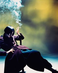 Quit smoking (Suzie Smoking, 1988, Nick Knight, National Media Museum)