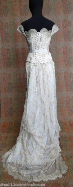 """Kahlan's wedding dress from 'torn' """"legend of the seeker"""""""