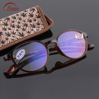 d2ec8209b3b SCOBER   Anti-blue Reading Glasses Ultra-light TR90 Leopard Frame  Eyeglasses Spectacles