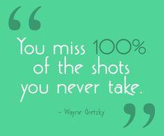 Take the shot.