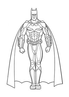 Batman Ami De Iron Man Superheros Coloring Pages Printable. Who doesn't know Batman? Maybe all Dc fans and superhero movie fans must have heard at least this Batman figure. Batman is one of the most famous supe. Superman Coloring Pages, Superhero Coloring, Cartoon Coloring Pages, Colouring Pages, Printable Coloring Pages, Coloring Books, Batman Concept Art, Super Hero Coloring Sheets, Batman Et Superman