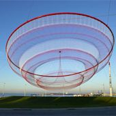 Janet Echelman's work is beautiful - I've been inspired more today than in a long time.